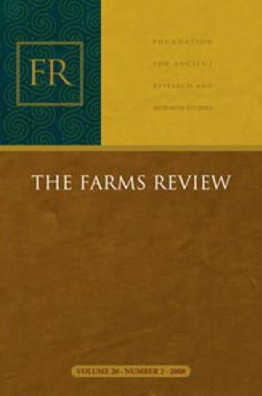 Cover of FARMS Review