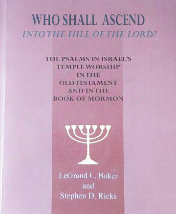 Book cover of Who Shall Ascend into the Hill of the Lord
