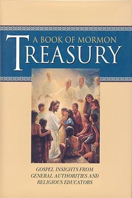 Book cover of A Book of Mormon Treasury