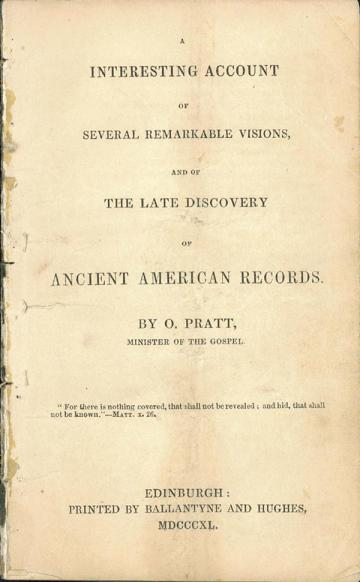 Book cover of Interesting Account of Several Remarkable Visions