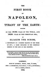 Book cover of The First Book of Napoleon, The Tyrant of the Earth