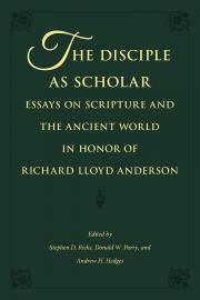 Book Cover of The Disciple as Scholar