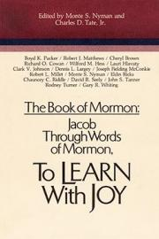 The Book of Mormon: Jacob through Words of Mormon, To Learn with Joy