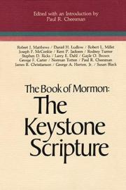 The Book of Mormon: The Keystone Scripture