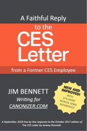 A CES Letter Reply: Faithful Answers For Those Who Doubt